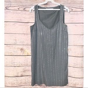 Susana Monaco - Gray  Sleeveless Dress - Size 2